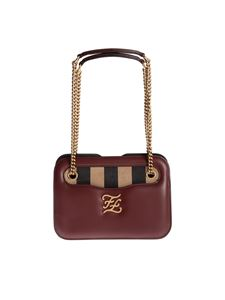 Fendi - Karligraphy Pocket bag in brown