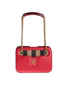 Fendi - Karligraphy Pocket bag in red