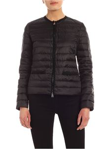 ADD - Curled details down jacket in black