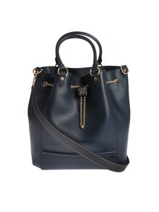 Fendi - Large bucket bag in midnight blue