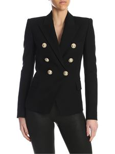 Balmain - Six buttons jacket in black