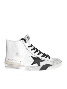 Golden Goose - Sneakers Francy bianche e nere