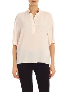 Fay - Loose fit blouse in ivory color