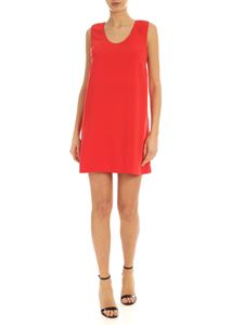 Parosh - Bow short dress in red