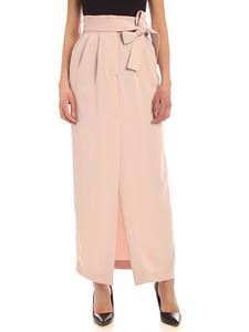 Parosh - Pleated skirt in pink