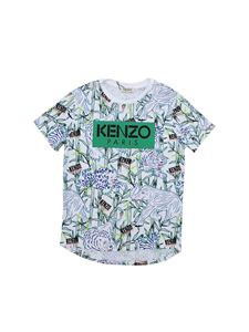 Kenzo - T-shirt Disco Jungle bianca