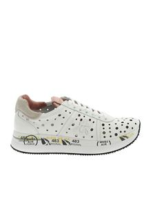 Premiata - Conny sneakers in white and pink