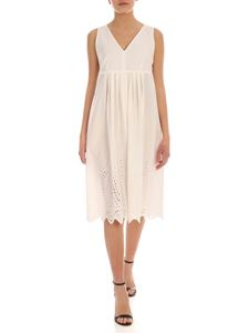 Max Mara Weekend - Renna sangallo dress in ivory color