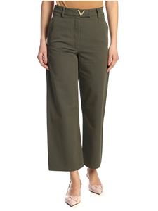 Valentino - Vgold pants in green
