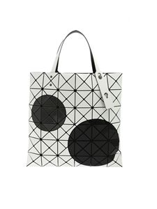 BAO BAO Issey Miyake - Maru Mary bag in white black and grey