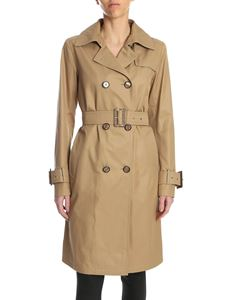 Herno - Rain Collection trench coat in camel color