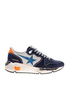 Golden Goose - Running Sole sneakers in blue and grey