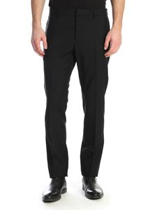 Valentino - Wool trousers in black