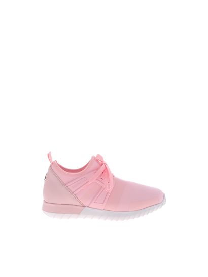 Moncler Jr - Melly sneakers in pink