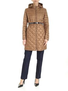Max Mara - The Cube Etrevi down jacket in brown