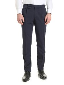 Incotex - Cotton chino pants in blue