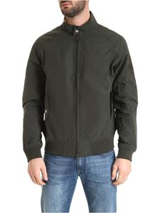 Barbour - Rectifier bomber in sage color