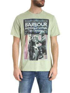 Barbour - Fixer T-shirt in vintage green