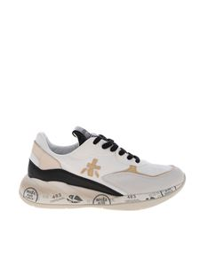Premiata - Scarlet sneakers in white and black