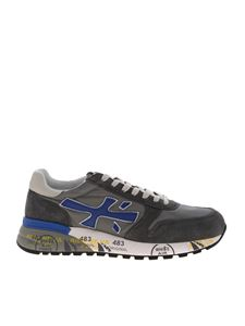 Premiata - Mick suede sneakers in grey and blue