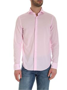 Fedeli - Cotton shirt in pink