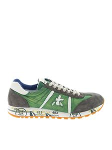 Premiata - Lucy sneakers in green and grey
