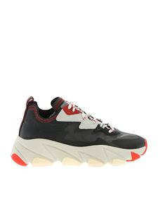Ash - Eclipse sneakers in black and red