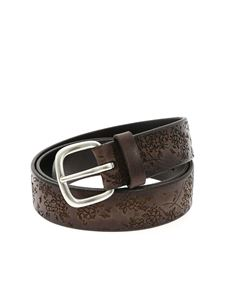 Orciani - Stain belt in brown