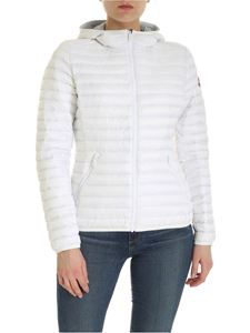 Colmar Originals - Punk hooded down jacket in white