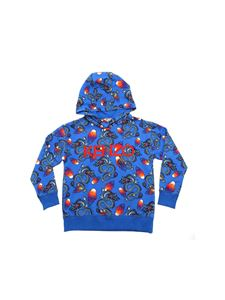 Kenzo - Dragon Celebration sweatshirt in electric blue