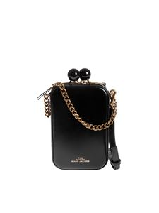 Marc Jacobs  - The Vanity clutch in black