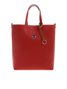 Kenzo - Eye Small tote handbag in red