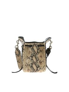 Isabel Marant - Radja shoulder bag in animal print
