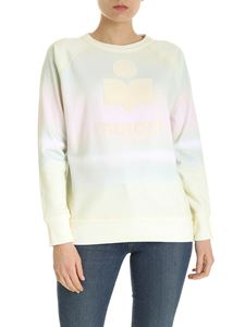 Isabel Marant Étoile - Milly sweatshirt in yellow green and pink