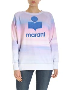 Isabel Marant Étoile - Milly sweatshirt in purple and pink