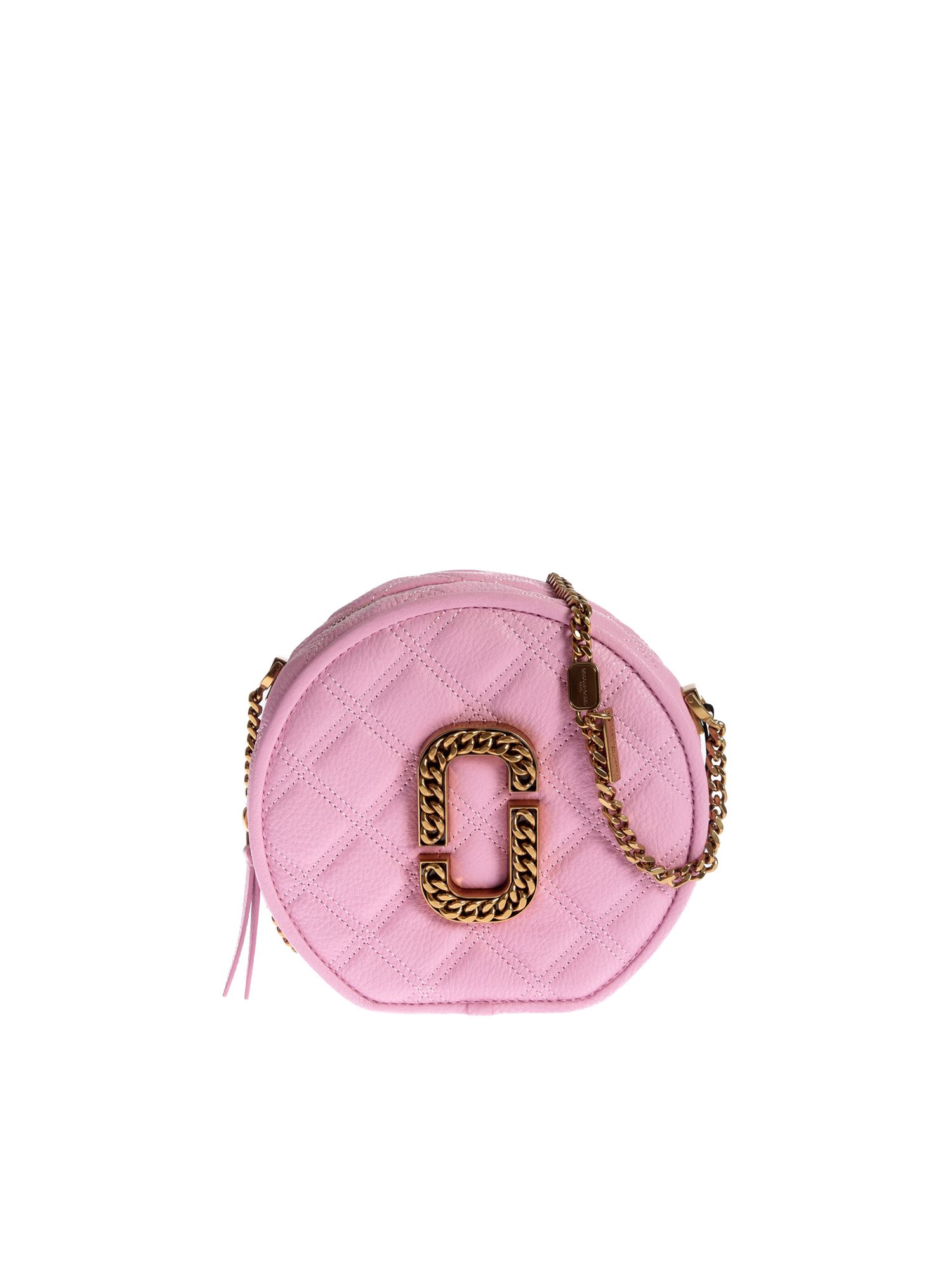 Marc Jacobs THE STATUS ROUND CROSSBODY IN PINK