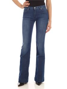 Fay - Flared jeans in faded blue