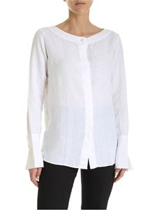 Fay - Linen shirt in white
