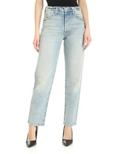 Mother - The Fluffy Flood jeans in light blue