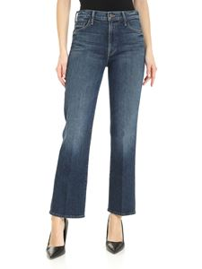 Mother - The Outsider Ankle Flared jeans in blue