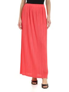 PLEATS PLEASE Issey Miyake - Pleated skirt in coral red