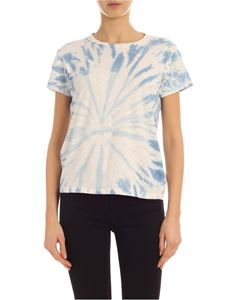 Mother - T-shirt The Sinful blu effetto tie dye
