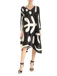 PLEATS PLEASE Issey Miyake - Pause short dress in black and green