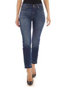 7 For All Mankind - Roxanne Ankle blue jeans