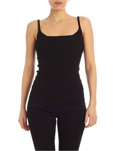Semicouture - Top Blandine nero