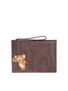 Etro - ETRO X Tom and Jerry pouch in Paisley print