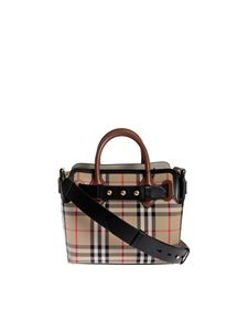 Burberry - The Belt mini bag with Vintage check motif