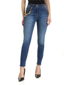 Elisabetta Franchi - Charm faded jeans in blue