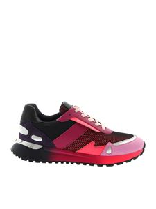 Michael Kors - Monroe Trainer sneakers in fuchsia purple and pink