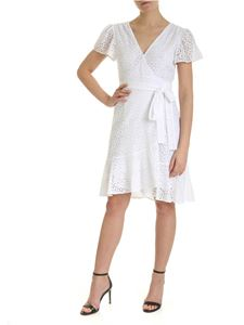 Michael Kors - Sangallo wallet dress in white